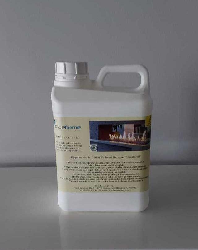 Bio Ethanol Şömine Yakıtı 5 Lt.